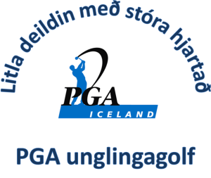 PGA unglinga golf merki